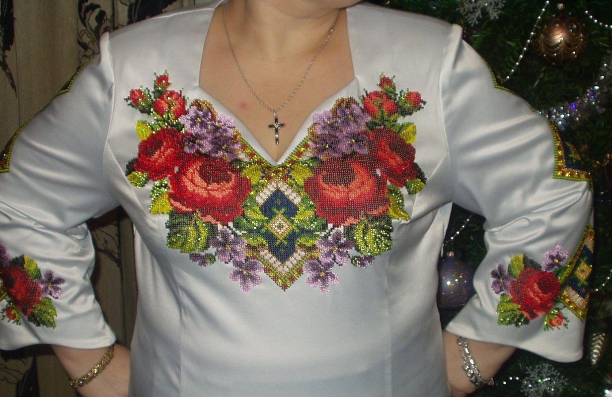 Женские Блузки Вышиты Бисером