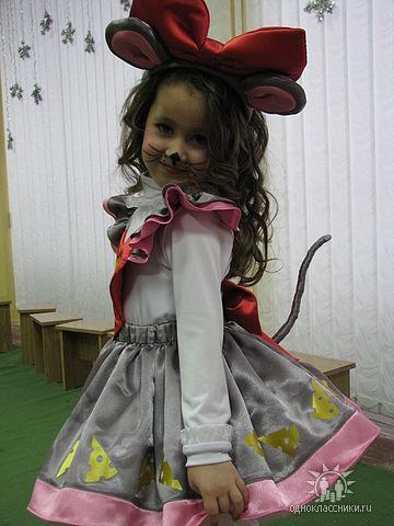 Новогодний костюм мыши своими руками
